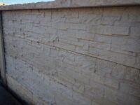 Slate effect gravel/kick boards concrete