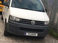 VW transporter T5.1 with conversion