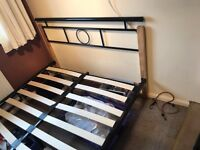 Double bed - no mattress