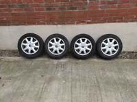 Mini Cooper Full Alloy Wheel Set 175/65 R15