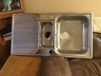 NEW Kitchen sink with fittings