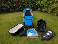 Silvercross Wayfarer travel system Pram Excellent condition