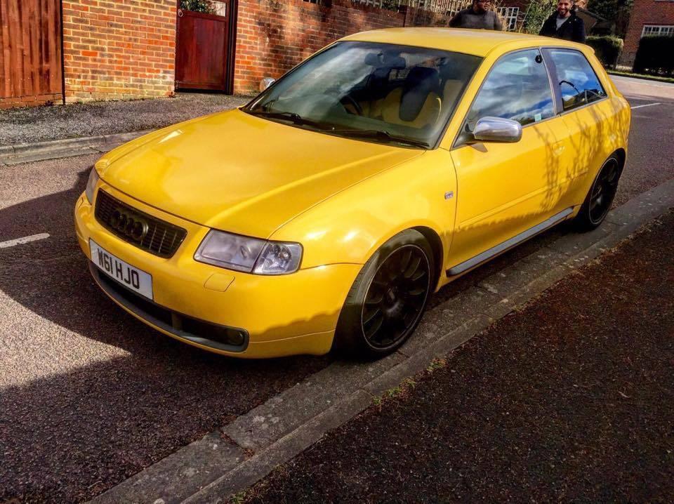2000 Audi S3 18 Turbo Quattro 8l Rare Imola Yellow 18 Bbs Ch