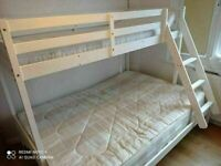 🔵💖🔴GUARANTEED PRICE🔵💖🔴NEW TRIO SLEEPER WOODEN BUNK BED SAME DAY EXPRESS DELIVERY