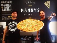 Chefs! Manny's Pizza is looking to recruit a full team for our new site in Sheffield.