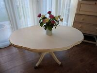 French inspired Shabby Chic coffee table £75
