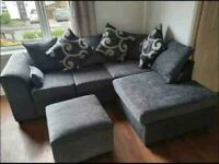 == NEXT DAY DELIVERY == IMPORTED BARCELONA CORNER OR 3+2 SOFA SET