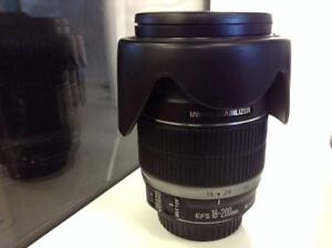 Canon 18-200 MM Lens