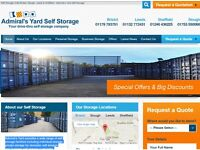 self storage slough containers parking