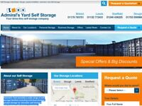 container self storage units 20ft 10ft students moving house slough windsor m4