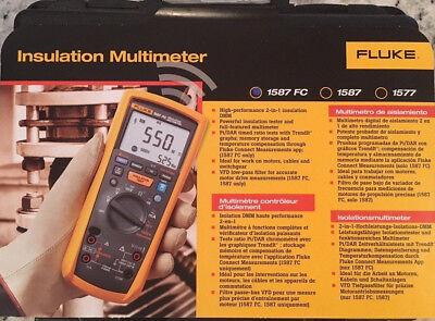 Fluke 1587 Fc Insulation Multimeter New - Msrp 995