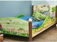Fantasy Fields Toddler Dinosaur Bed
