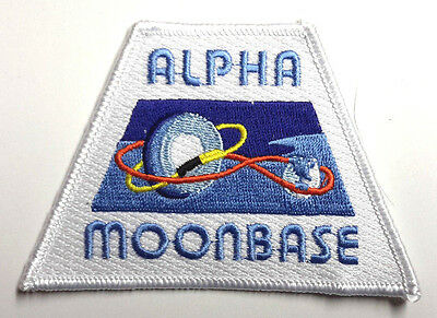 "Space:1999  Moonbase Alpha w Orbits 4"" Wide Uniform Patch-USA Mailed (SPPA-1906)"