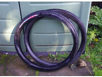 "Specialized Hemisphere 26"" X 1.95"" urban mountain bike tyres X 2"