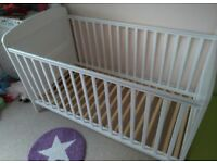 Obaby Cot Bed with Mattress