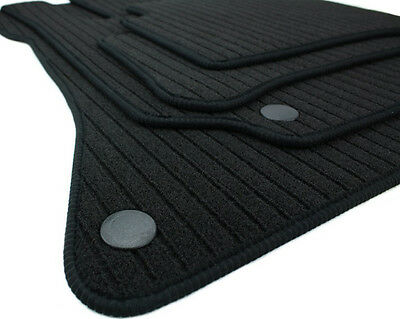 Fußmatten für Mercedes E-Klasse W212 S212 für CLS C218 X218 RIPS Velours