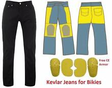 Regular Fit Motorcycle Armoured Jeans Pants Hadfield Moreland Area Preview