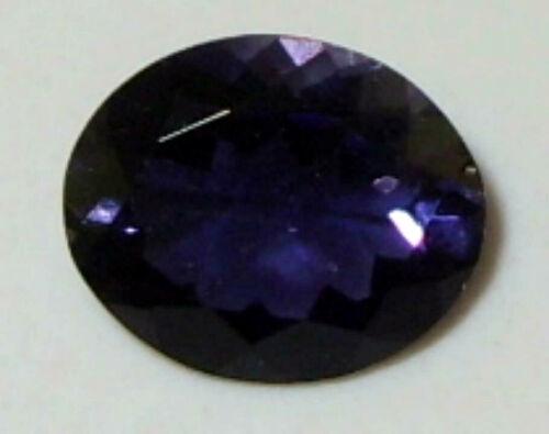 2.65ct AAA GRADE Rich Blue Purple Zambian Iolite Oval Cut 11x9mm SPECIAL