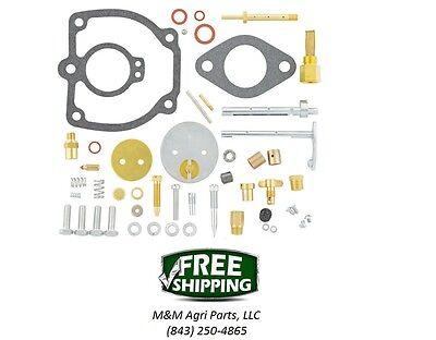Farmall M Mv W6 Tractor Complete Carburetor Kit Ih Carb 47387db 50983d W 6513dx