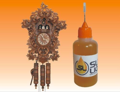 BEST synthetic oil for antique cuckoo clocks, Slick Liquid Lube Bearings BEST