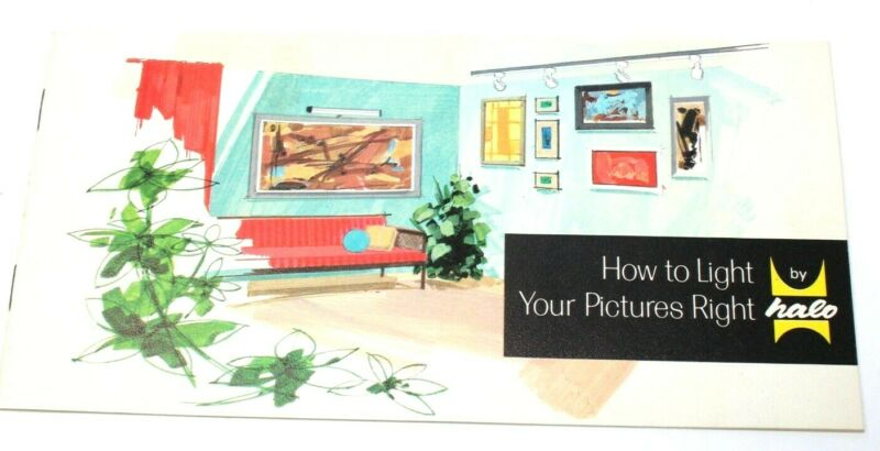 Vintage Halo How To Light Your Pictures Right Booklet - 1965