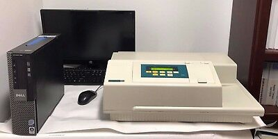 Molecular Devices Spectra Max Plus Plate Reader With Computer And Software