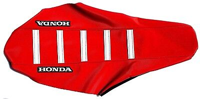 New Red & White Team Honda Ribbed seat Cover CRF150F CRF230F 2003-2015