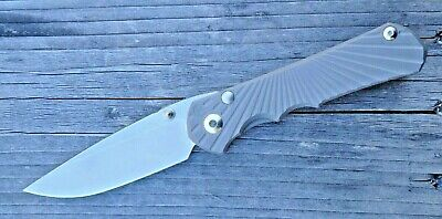 Inkosi (Large) Titanium Framelock | Wilson Tactical® / Chris Reeve Knives