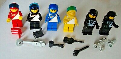 5 Vintage LEGO Futuron and Blacktron Space Minifigures bundle 6703