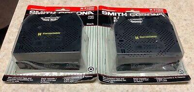 Smith Corona H21000 Correction Ribbon Lot Of 2 Packs 4 Total Cartridges