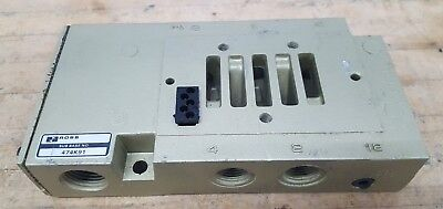 Ross 474k91 Pneumatic Valve Base-manifold Used