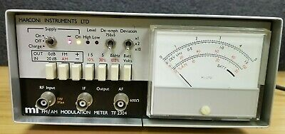 Marconi Tf-2304 Fmam Modulation Meter M-395