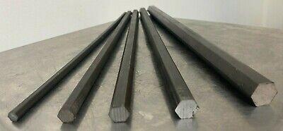 1144 Stress-proof Steel Bar Stock Assortment 5 Hexagon Bars See Description