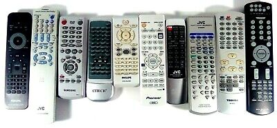 DVD Video Home Theater Remote Controls Pioneer Philips Samsung JVC Toshiba Works for sale  Shipping to India