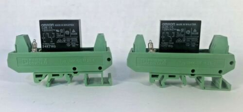 2 For 1! PHOENIX CONTACT UMK-SE 11,25-1 with OMRON G2R-14 RELAY