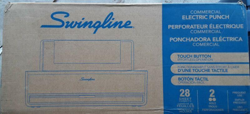 SWINGLINE COMMERCIAL ELECTRIC 2 HOLE PUNCH - 28 SHEET, MODEL 74532