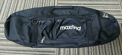 MaxFind Skateboard Bag Backpack Max Find Black Board Luggage