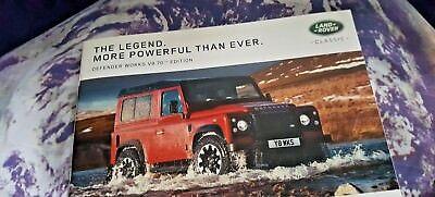 Land Rover Defender V8 Works Edition - 2018 - 31pgs