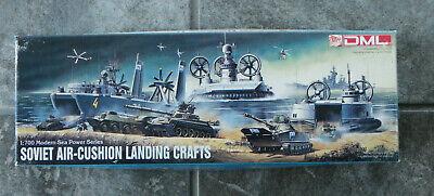 DML 1:700 Soviet Air-Cushion Landing Craft Planes Armor Model Kit-7011-Rare