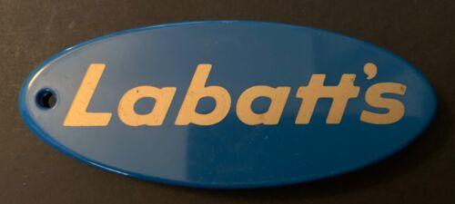 Vintage Labatt's Plastic/Metal Blue Bottle Opener