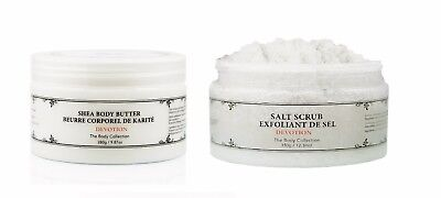 (Vivo Per Lei Body Butter + Body Salt Scrub Set Devotion.)