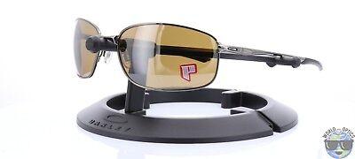 Oakley Taper Sunglasses OO4074-05 Tungsten w/ Tungsten Iridium Polarized Lens
