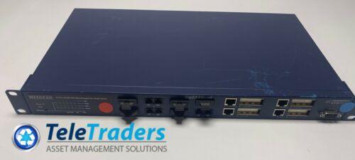 Netgear Gsm712f Prosafe 12-port Gigabit Fiber Ethernet Managed Switch