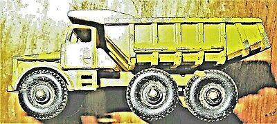 Matchbox Dump Truck-Euclid No. 6A