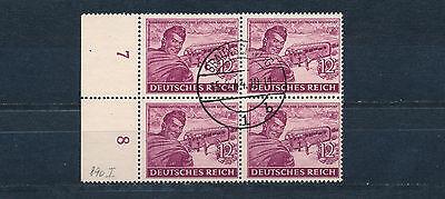 Dt. Reich 12 Pf. Post 1944 Plattenfehler Michel 890 I geprüft (S13040)