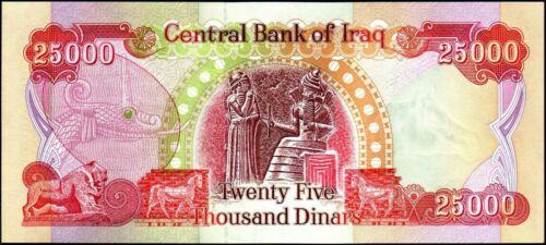 500000(HALF MILLION) IRAQI DINAR BANKNOTES! UN-CIRCULATED 20 x 25000