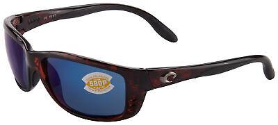Costa Del Mar Zane Sunglasses ZN-10-OBMP Tortoise | Blue Mirror 580P (Costa Del Mar Zane Sunglasses)