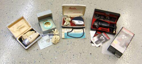 Vintage Electric Razor Shaver Lot