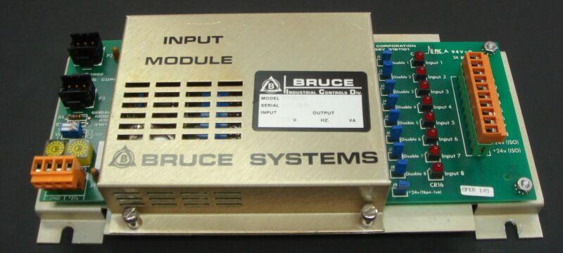 NB8 - BTI Bruce Technologies INPUT Module 9760132 - USED