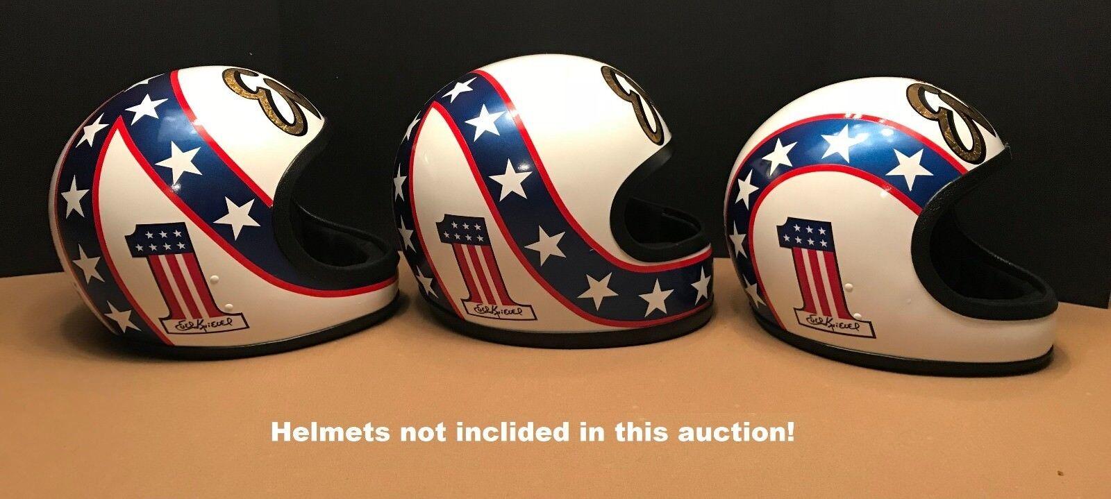 Evel knievel make your own helmet vinyl decal set 1 daredevil polybull com